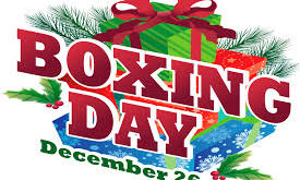Boxing Day :26 December, Important Day