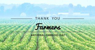 Farmer's Day: 22 Decemeber: Important Day