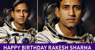 Rakesh Sharma Birthday 13 January
