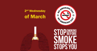 10 March-No Smoking Day (Second Wednesday of March)